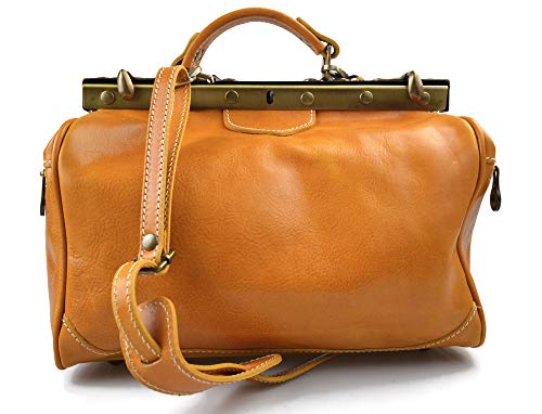 Ladies leather handbag made in Italy