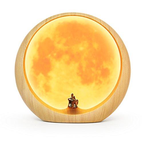 Mamre Moon Ambient Light Art Decor, Love Beneath The Red Moon