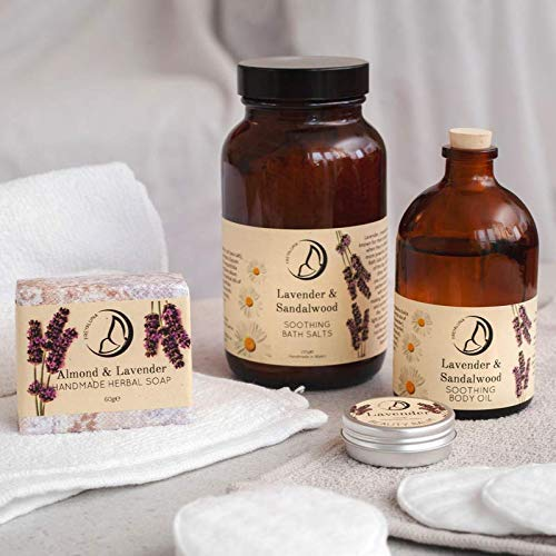Natural Lavender Relaxing Sleep Well Bath & Body Skin Care Beauty Gift Set