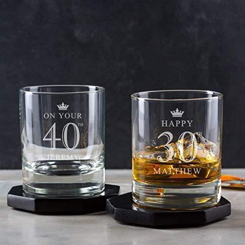 Personalised Whiskey Glass/Personalised Tumbler