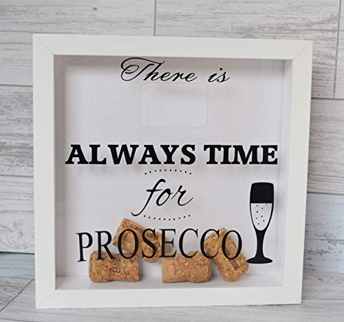 Prosecco Cork Holder, Champagne Gift, Wine Lover, There is always time for Prosecco