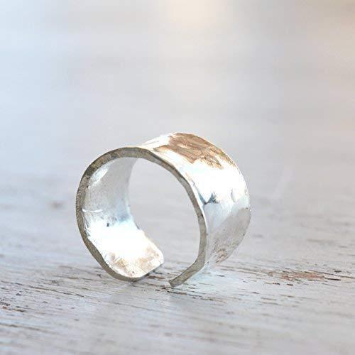 Sterling Silver Ear Cuff for Non Pierced Ears Cartilage helix cuffs Earrings